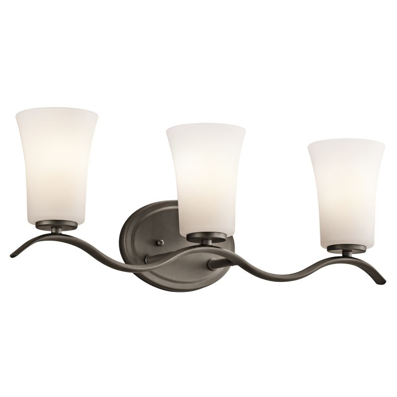 "Kichler 45376 Armida 3 Light 23"" Wide Vanity Light Bathroom Fixture"