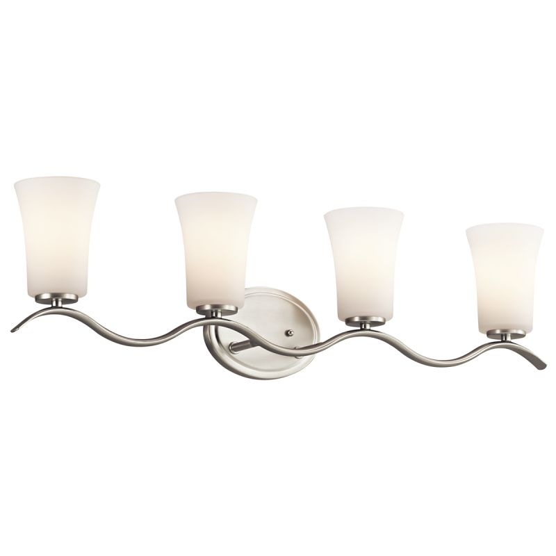 "Kichler 45377 Armida 32.25"" Wide 4-Bulb Bathroom Lighting Fixture"