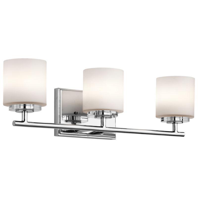 Kichler 45502 O Hara 3 Light 22&quote Wide Vanity Light Bathroom Fixture