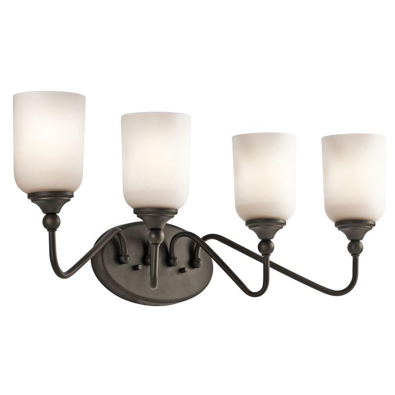 "Kichler 45553 Lilah 28"" Wide 4 Light Bathroom Vanity Light Olde Bronze"