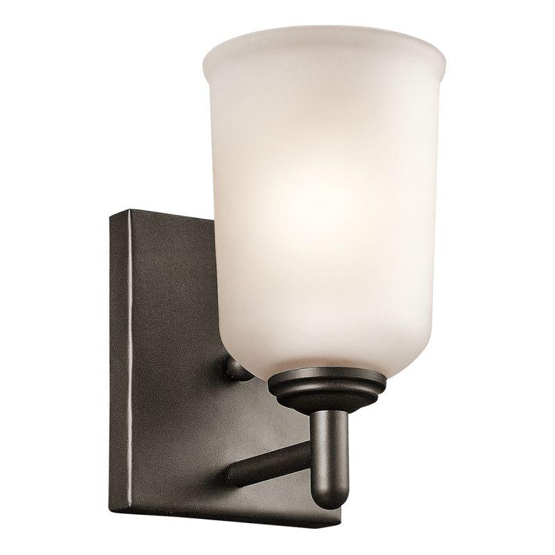 Kichler 45572 Shailene 1 Light Wall Sconce Olde Bronze Indoor Lighting