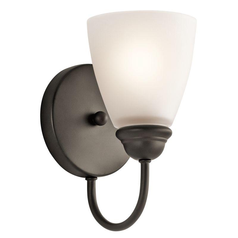 Kichler 45637 Jolie 1 Light Wall Sconce Olde Bronze Indoor Lighting