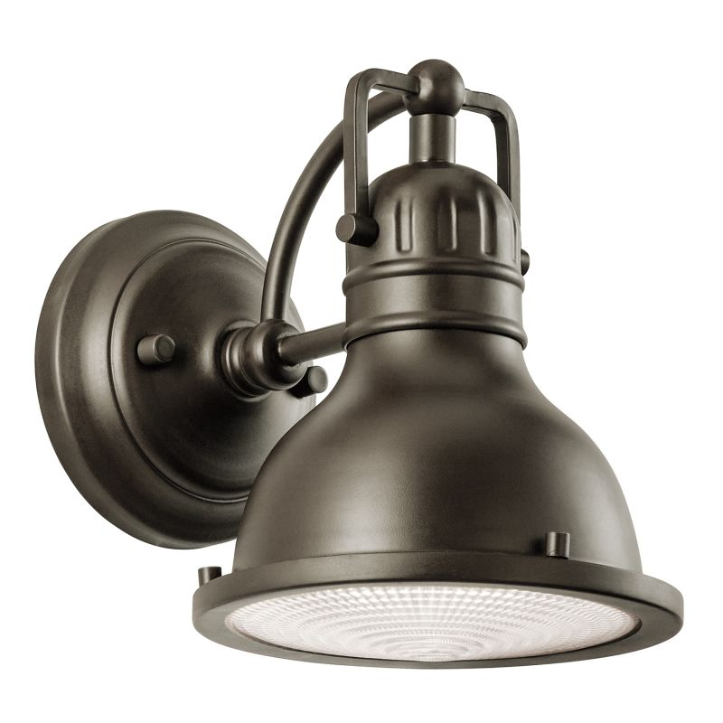 "Kichler 49064 Hatteras Bay Collection 1 Light 8"" Outdoor Wall Light"