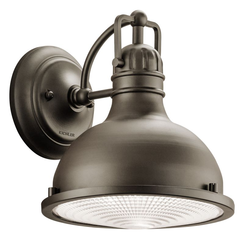 """Kichler 49065 Hatteras Bay Collection 1 Light 10"""" Outdoor Wall Light"""