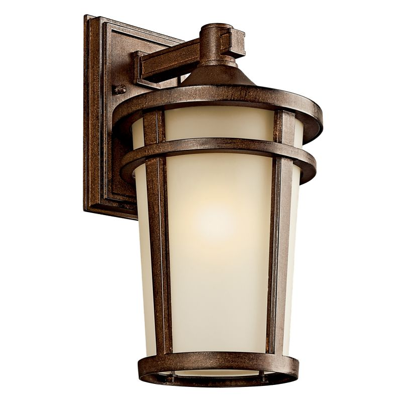 "Kichler 49072FL Atwood 1 Light 14"" Energy Efficient Fluorescent"