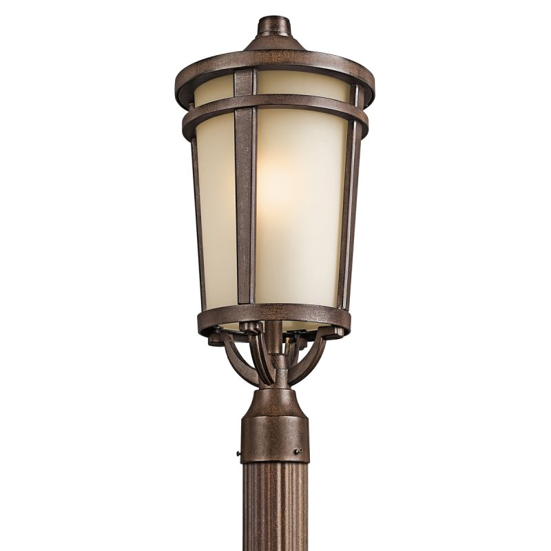 Kichler 49074 1 Light Outdoor Post Light from the Atwood Collection