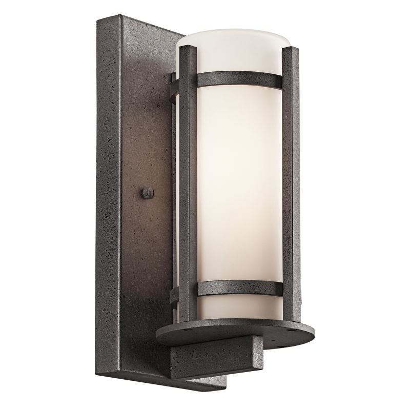 "Kichler 49119 Camden Single Light 11"" Tall Outdoor Wall Sconce with"