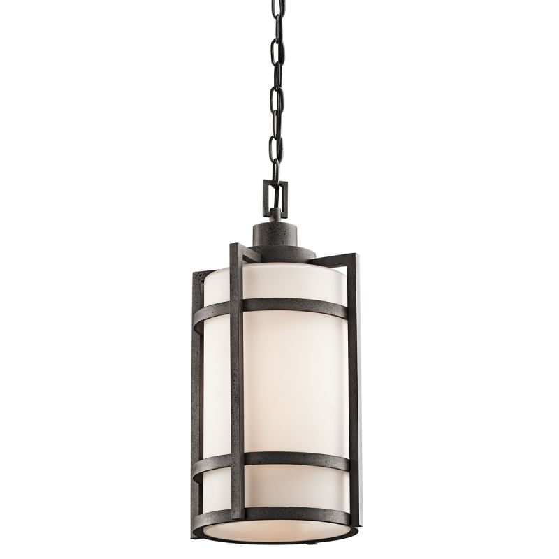 Kichler 49124 Single Light Outdoor Pendant from the Camden Collection Sale $313.50 ITEM: bci1222322 ID#:49124AVI UPC: 783927305457 :