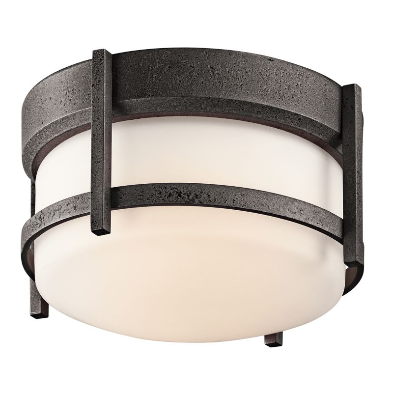 Kichler 49125 Single Light Outdoor Ceiling Fixture from the Camden