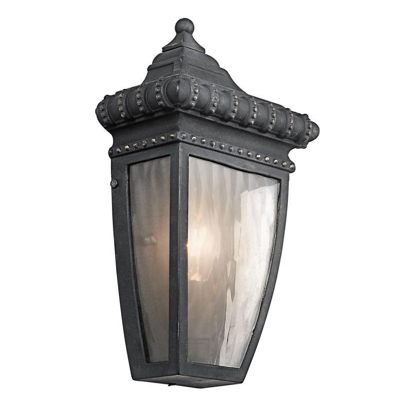 "Kichler 49130 Venetian Rain Collection 1 Light 12"" Outdoor Wall Light"