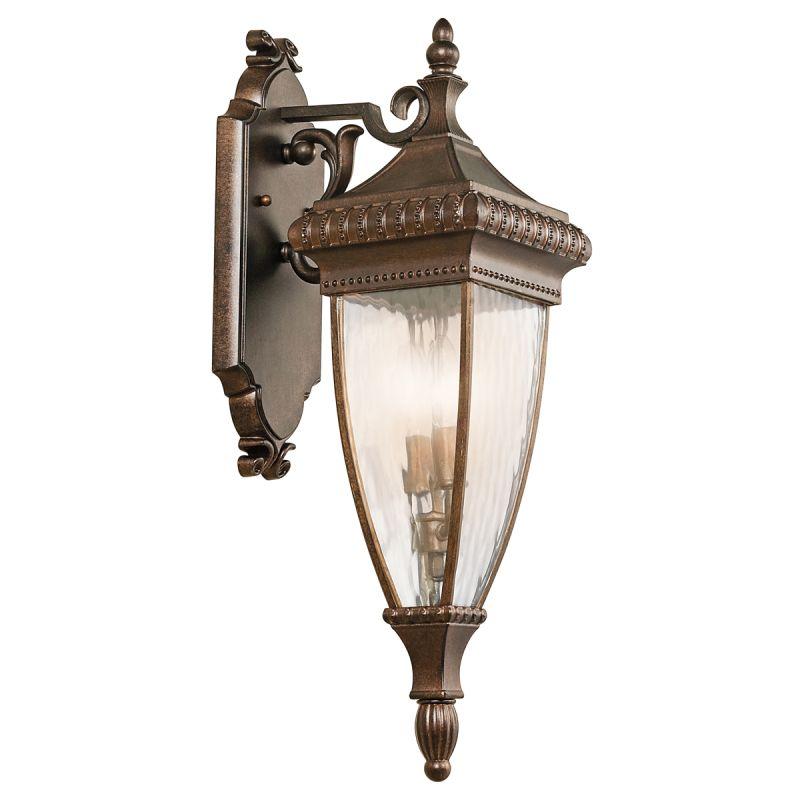 "Kichler 49131 Venetian Rain Collection 2 Light 25"" Outdoor Wall Light"