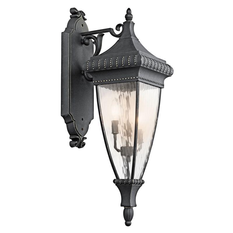 "Kichler 49132 Venetian Rain Collection 3 Light 31"" Outdoor Wall Light"