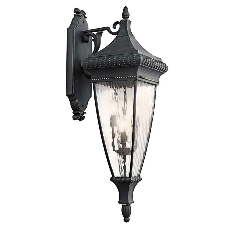 "Kichler 49135 Venetian Rain Collection 4 Light 12"" Wide Outdoor Wall"