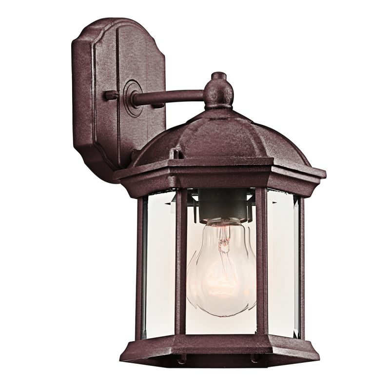 "Kichler 49183 Barrie Collection 1 Light 11"" Outdoor Wall Light Tannery"