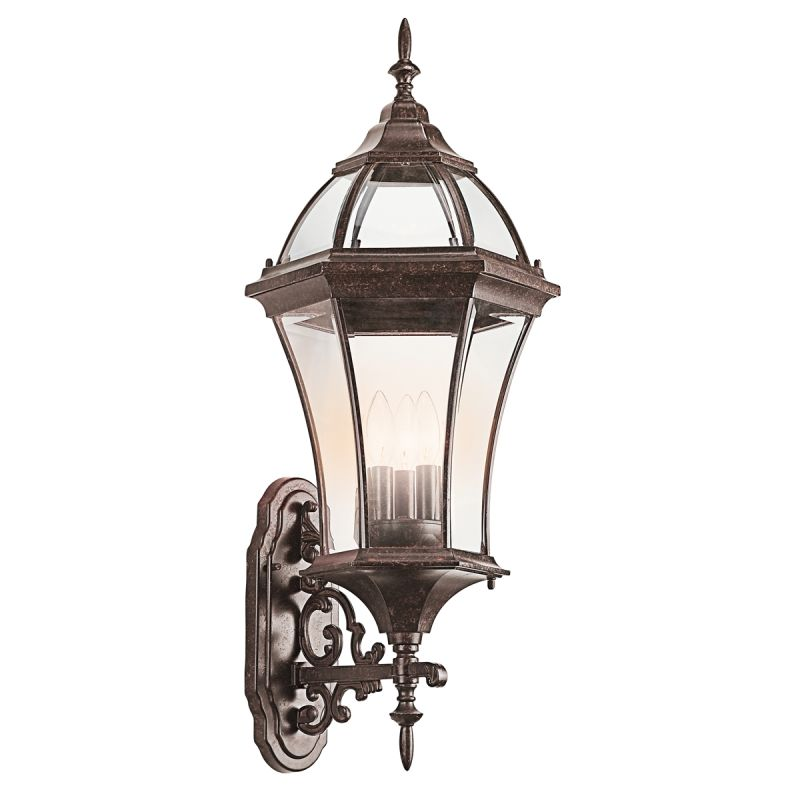"""Kichler 49185 Townhouse Collection 3 Light 31"""" Outdoor Wall Light"""
