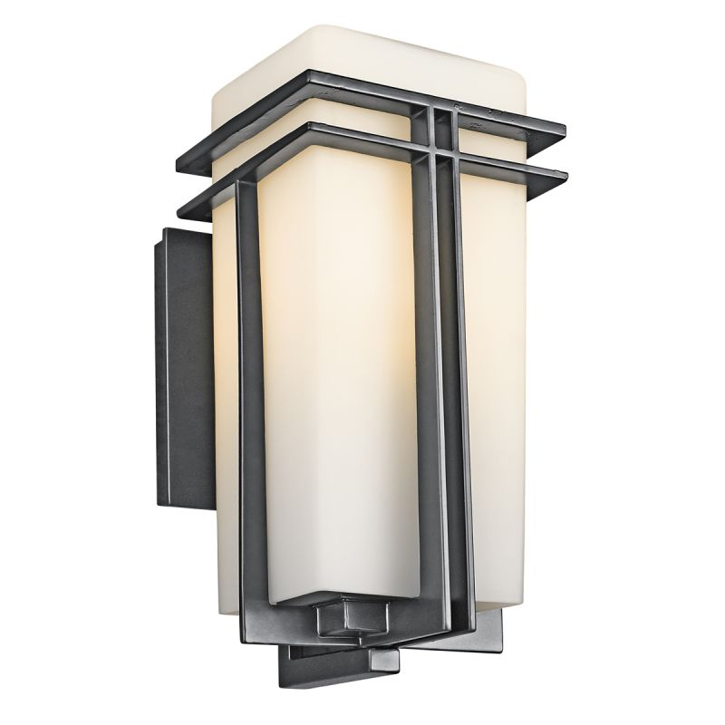 "Kichler 49201 Tremillo Single Light 14"" Tall Outdoor Wall Sconce with"