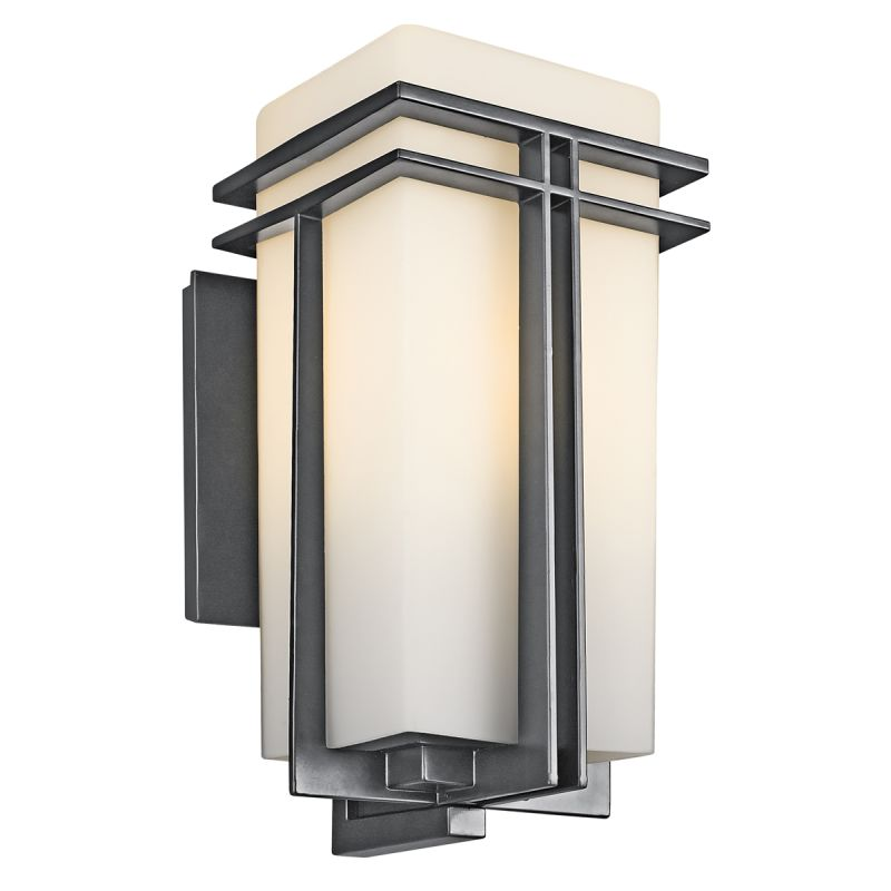 "Kichler 49202 Tremillo Single Light 17"" Tall Outdoor Wall Sconce with"