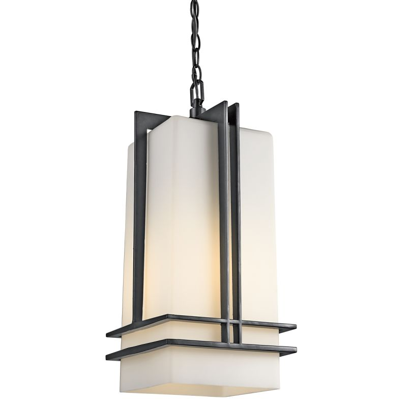 Kichler 49205 Modern Single Light Outdoor Pendant from the Tremillo