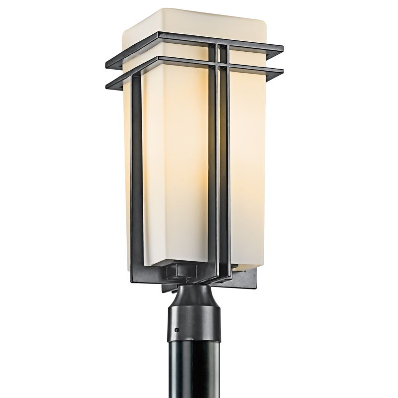 "Kichler 49207 Tremillo Single Light 20"" Wide Outdoor Post Light with"