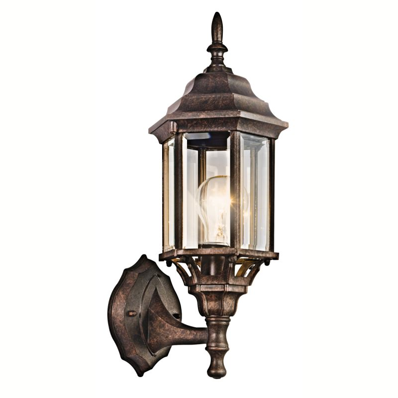 Kichler 49255 Chesapeake 1 Light Outdoor Wall Sconce Tannery Bronze