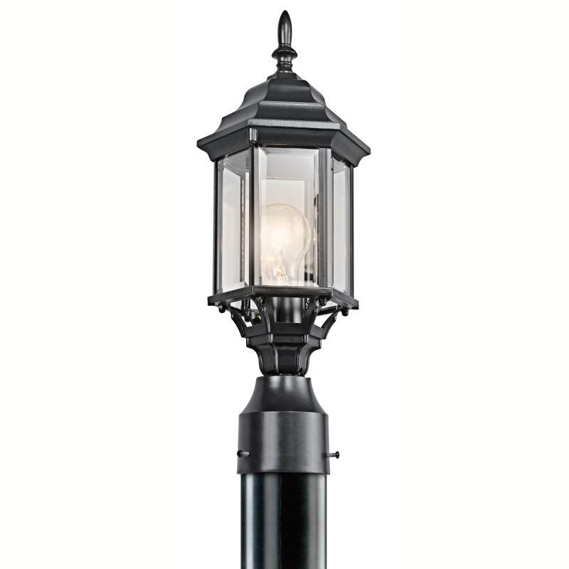 Kichler 49256 Chesapeake 1 Light Outdoor Post Light Black (Painted) Sale $39.60 ITEM: bci1222463 ID#:49256BK UPC: 783927318877 :