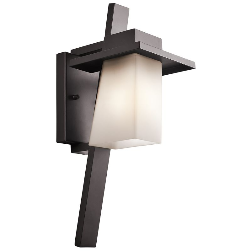 Kichler 49257FL Stonebrook 1 Light Outdoor Wall Sconce Architectural