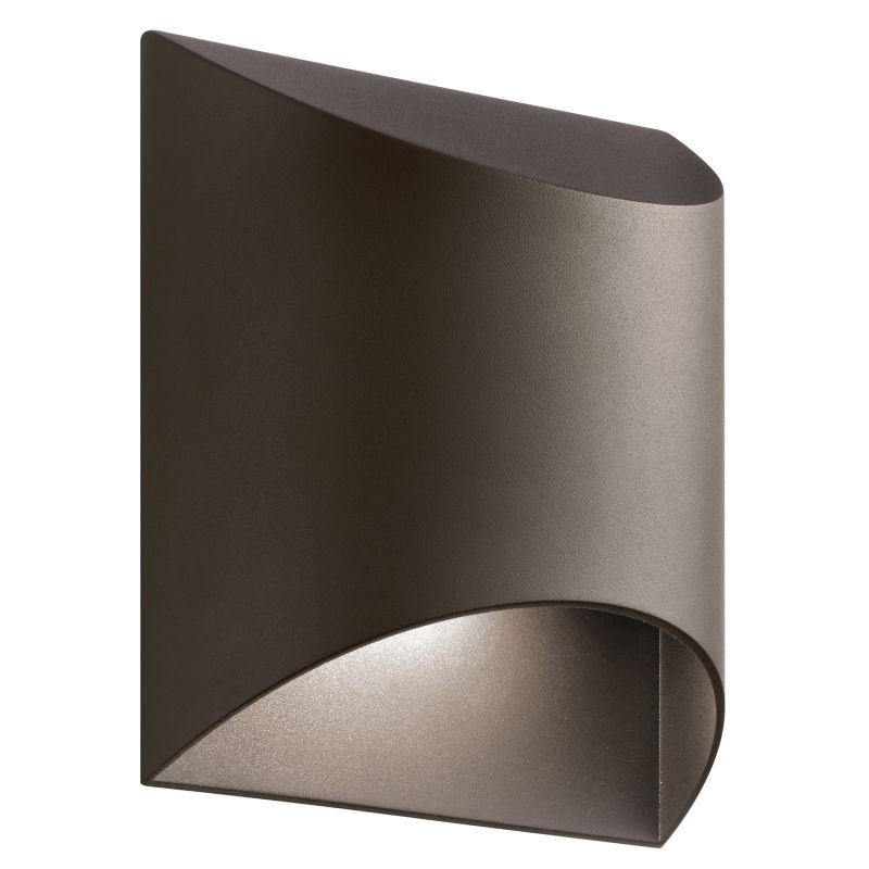 "Kichler 49278LED Wesly 1 Light 7"" Wide LED ADA Compliant Wall Sconce Sale $180.00 ITEM: bci2731413 ID#:49278AZTLED UPC: 783927458580 :"