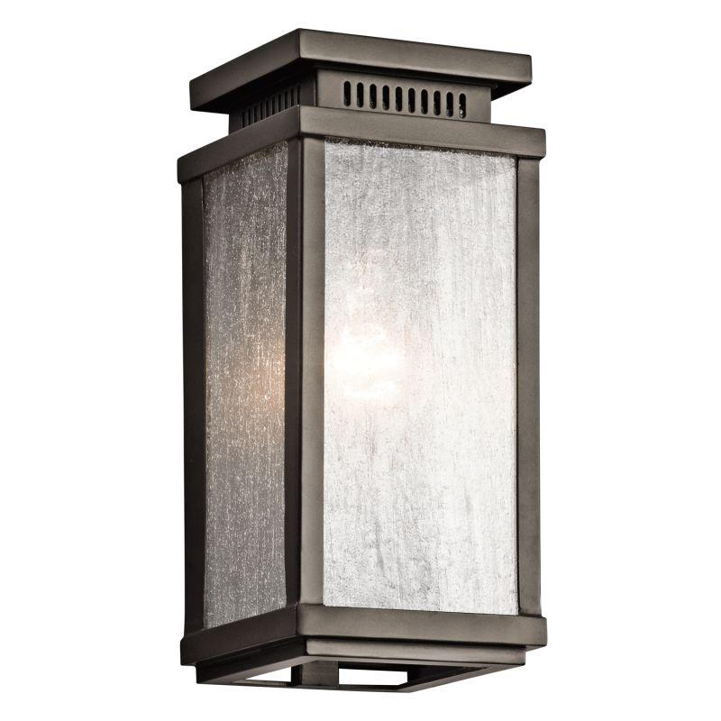 "Kichler 49384 Manningham Collection 1 Light 11"" Outdoor Wall Light"