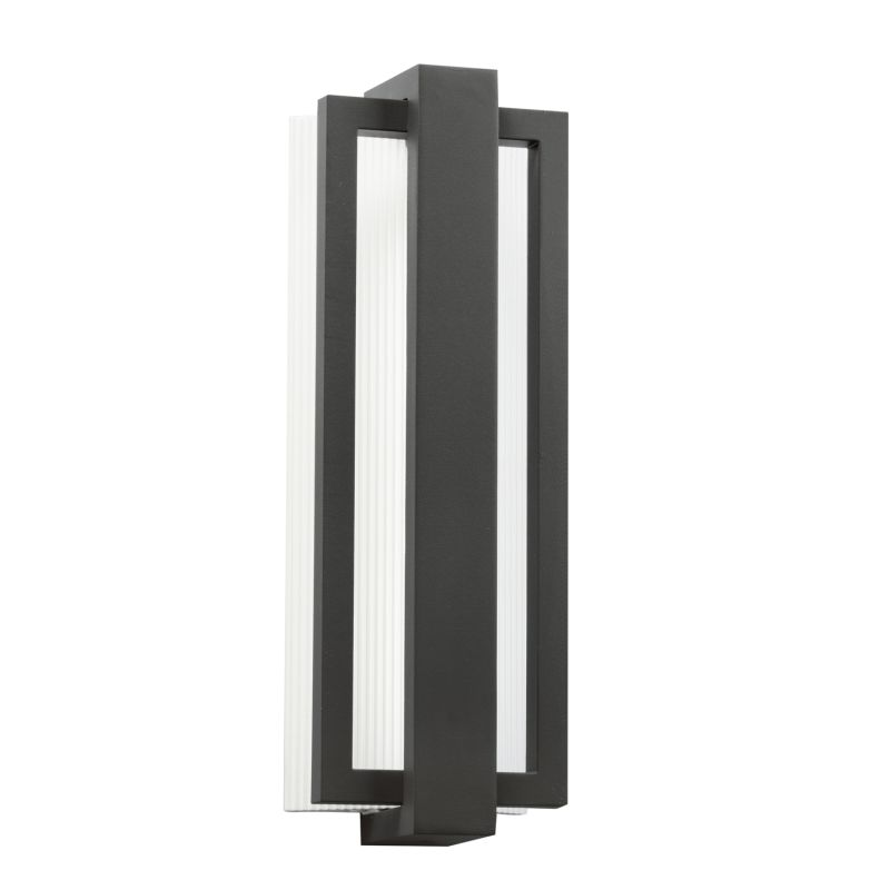 "Kichler 49434 Sedo 18"" Energy Efficient LED Outdoor Wall Light Satin"