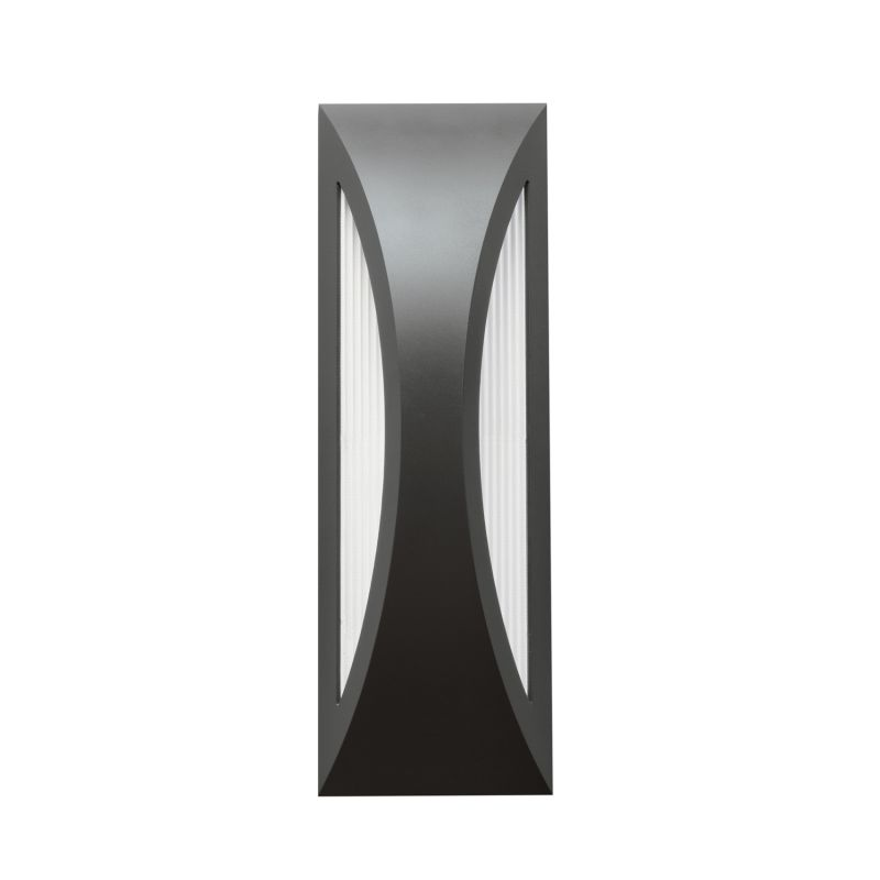 "Kichler 49436 Cesya 18"" Energy Efficient LED Outdoor Wall Light Satin"