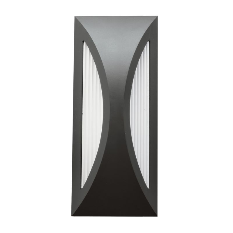 "Kichler 49494 Cesya 12"" Energy Efficient LED Outdoor Wall Light Satin"