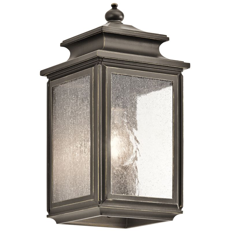 "Kichler 49501 Wiscombe Park 1 Light 12.25"" Outdoor Wall Light Olde"