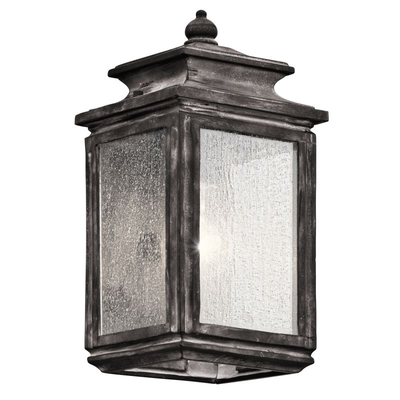 "Kichler 49501 Wiscombe Park 1 Light 12.25"" Outdoor Wall Light"