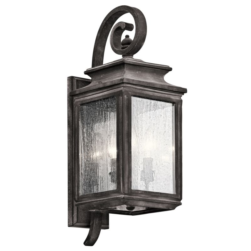 "Kichler 49502 Wiscombe Park 3 Light 21.75"" Outdoor Wall Light"