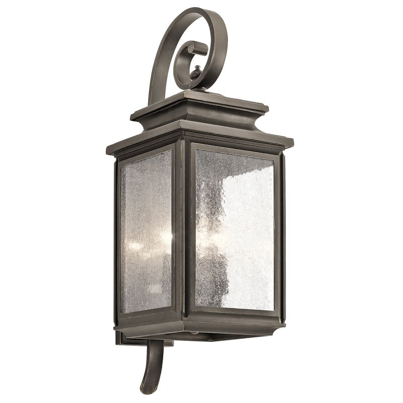 "Kichler 49503 Wiscombe Park 4 Light 26.25"" Outdoor Wall Light Olde"