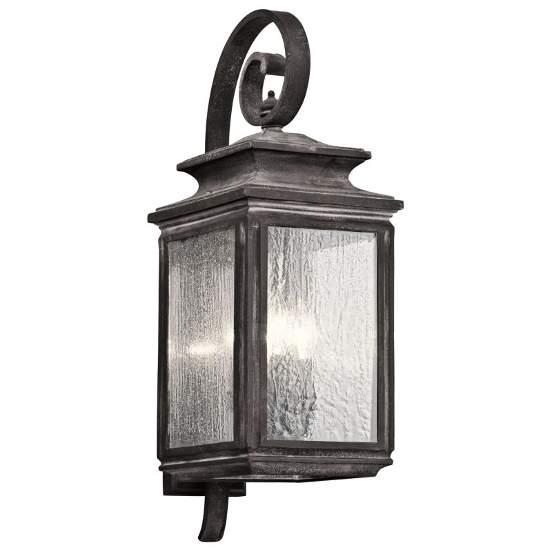 "Kichler 49503 Wiscombe Park 4 Light 26.25"" Outdoor Wall Light"