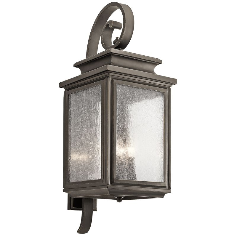 "Kichler 49504 Wiscombe Park 4 Light 30.5"" Outdoor Wall Light Olde"
