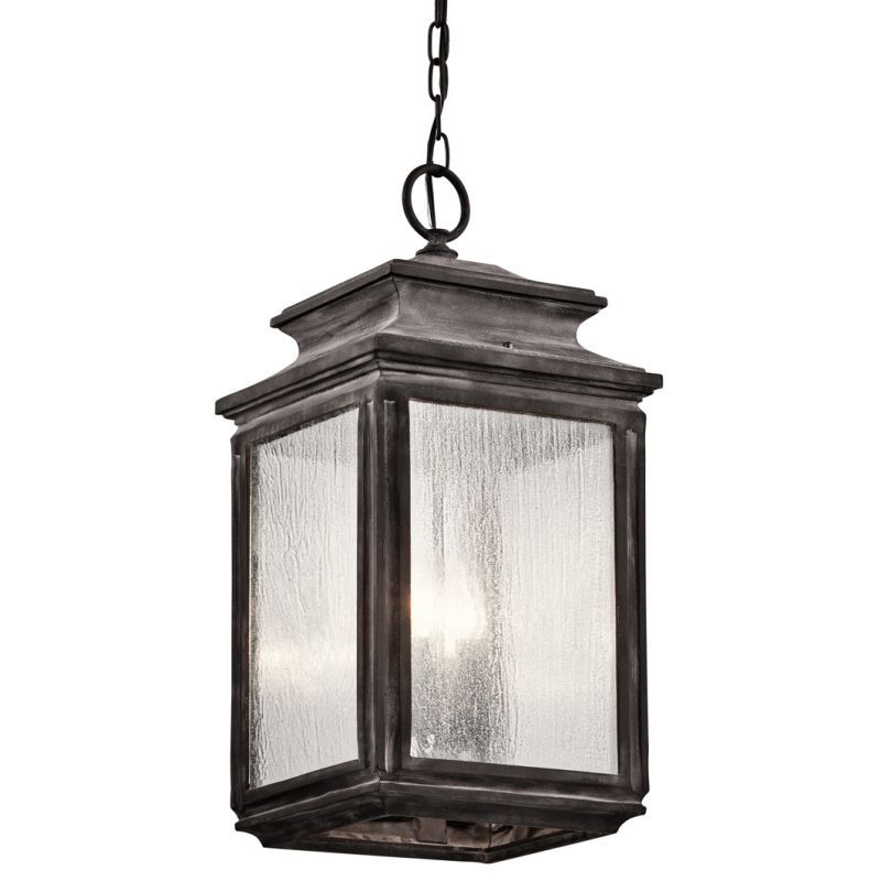 Kichler 49505 Wiscombe Park 4 Light Outdoor Full Sized Pendant