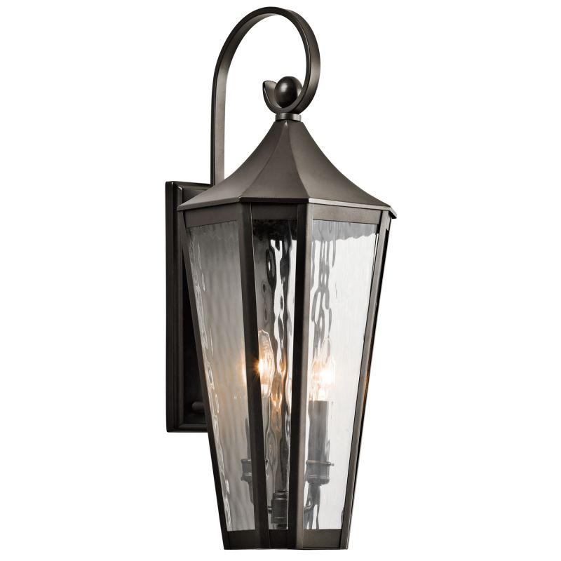 "Kichler 49513 Rochdale Collection 2 Light 25"" Outdoor Wall Light Olde"