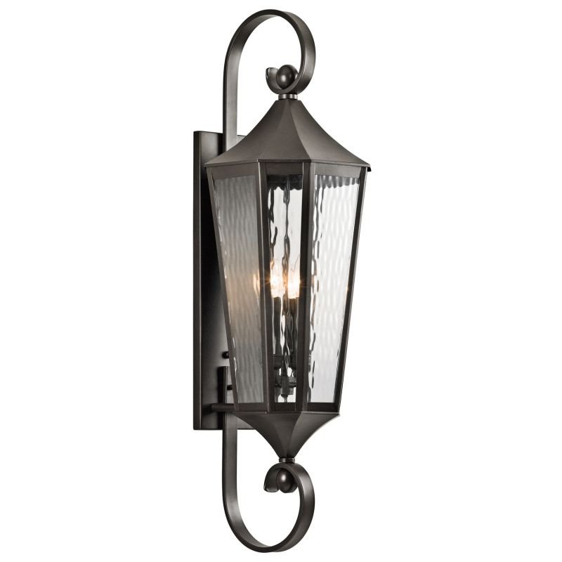 "Kichler 49514 Rochdale Collection 4 Light 40"" Outdoor Wall Light Olde"