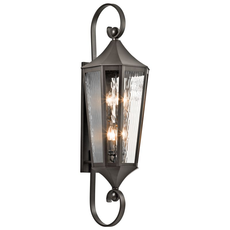 "Kichler 49515 Rochdale Collection 6 Light 47"" Outdoor Wall Light Olde"