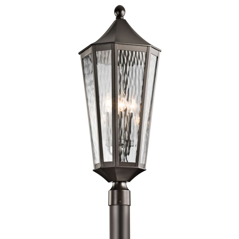 Kichler 49516 Rochdale 4-Bulb Post Light Olde Bronze Outdoor Lighting Sale $503.80 ITEM: bci2305235 ID#:49516OZ UPC: 783927421942 :