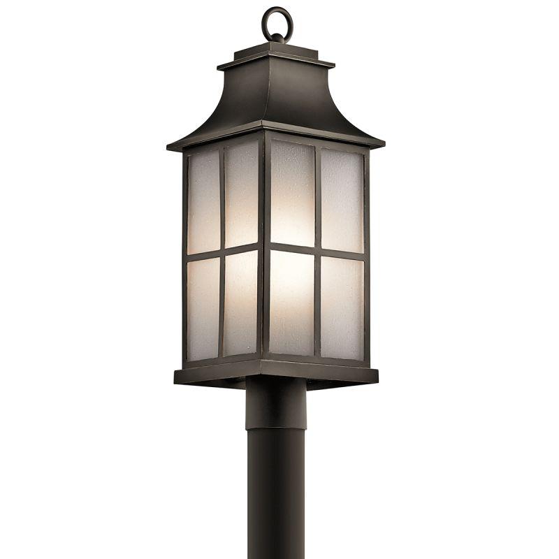 Kichler 49583 Pallerton Way Outdoor Post Light Olde Bronze Outdoor