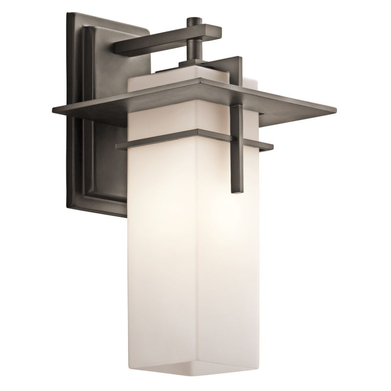 "Kichler 49643 Caterham Collection 1 Light 15"" Outdoor Wall Light Olde"