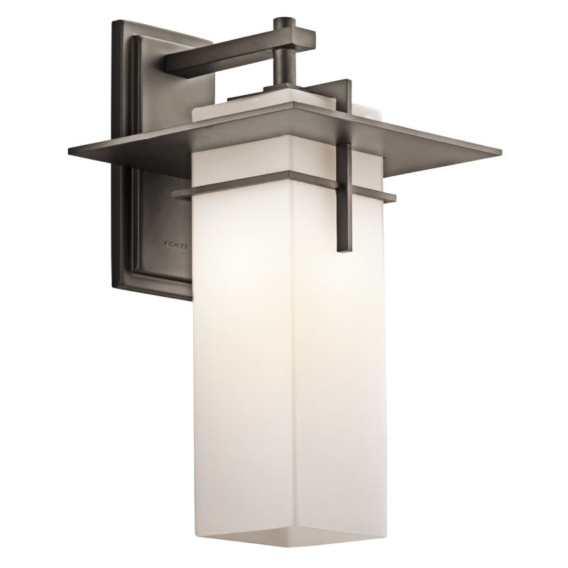 "Kichler 49644 Caterham Collection 1 Light 18"" Outdoor Wall Light Olde"