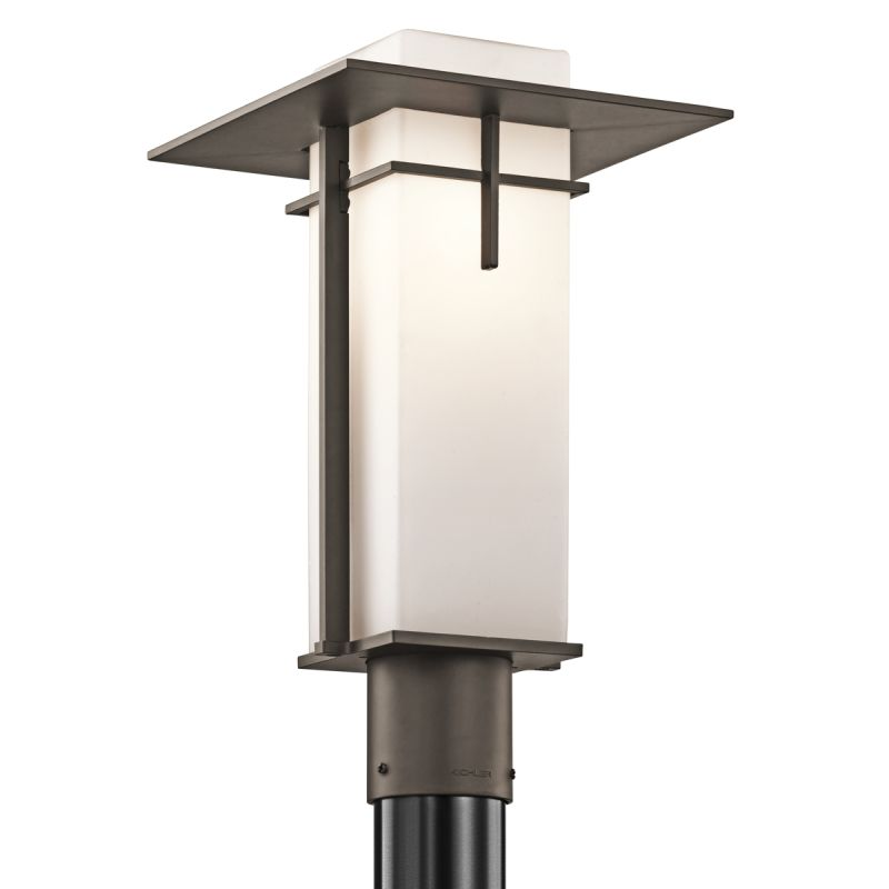 Kichler 49646 1 Light Outdoor Post Light from the Caterham Collection