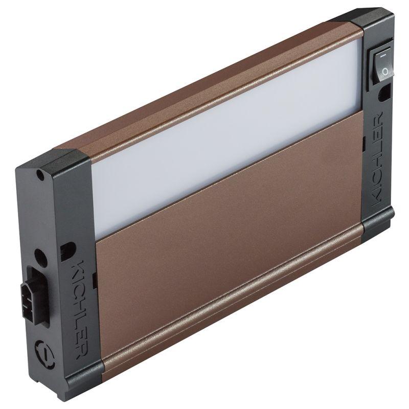"""Kichler 4U27K08 8"""" LED Under Cabinet Light Bar - 2700K Textured Bronze"""