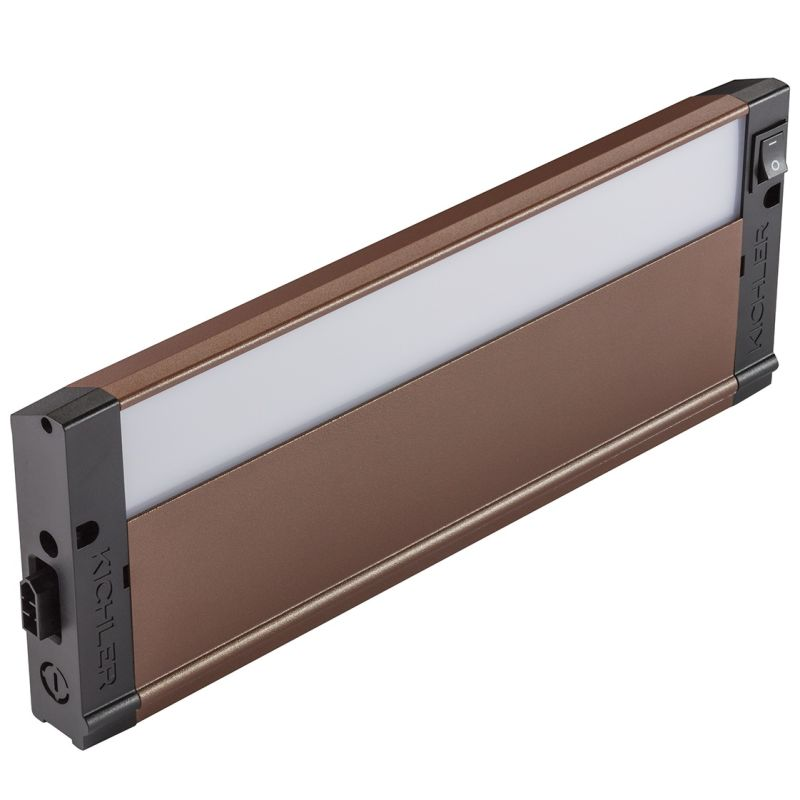 "Kichler 4U27K12 12"" LED Under Cabinet Light Bar - 2700K Textured"