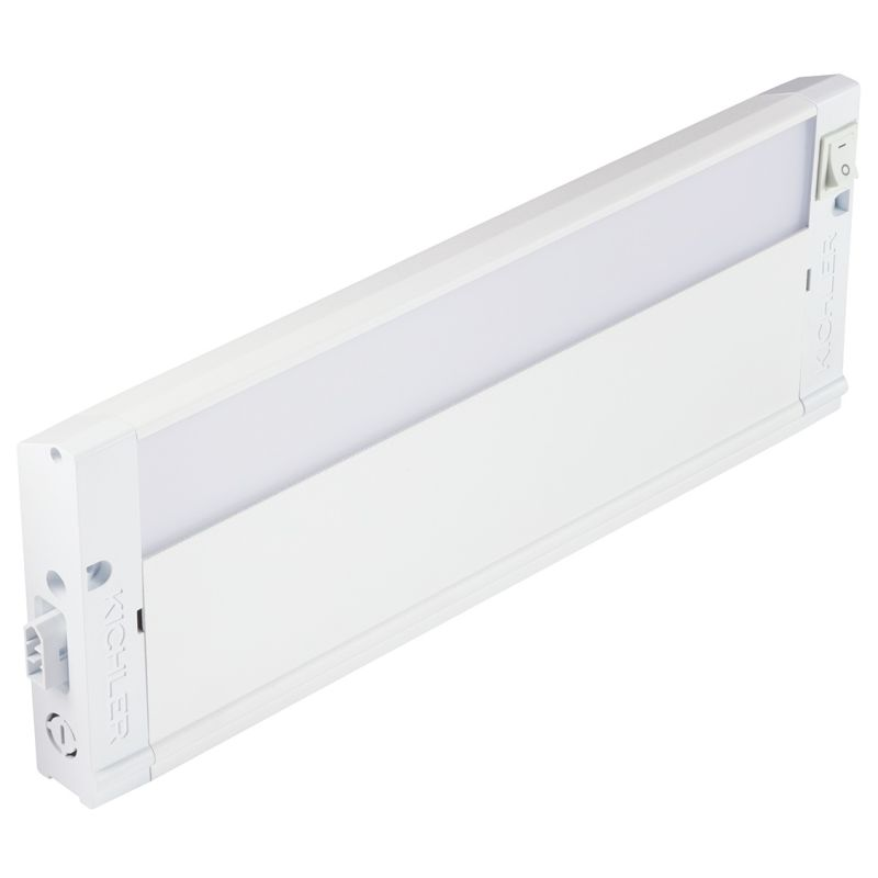 "Kichler 4U27K12 12"" LED Under Cabinet Light Bar - 2700K Textured White"