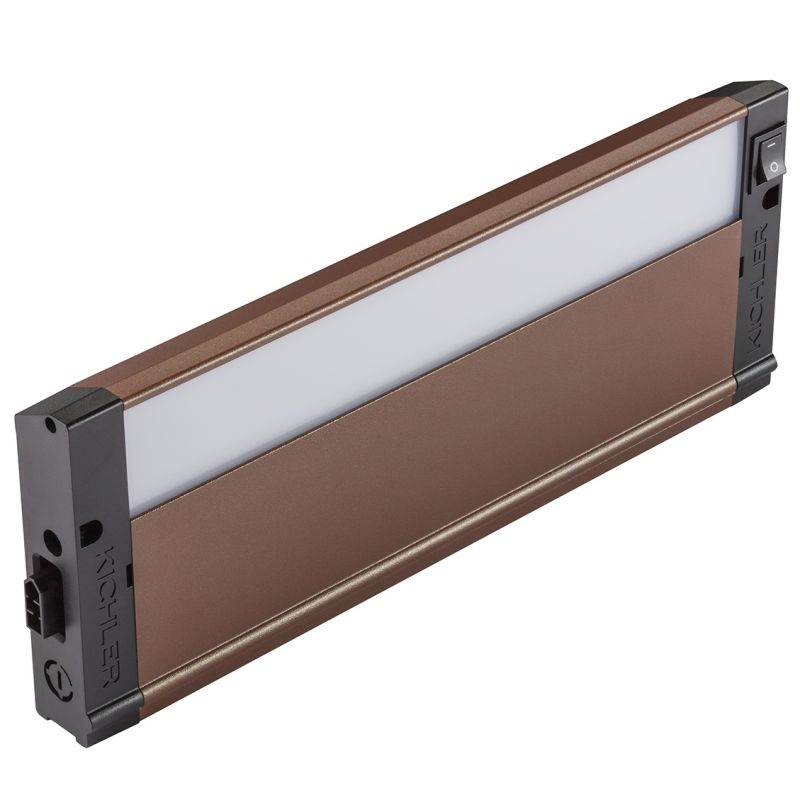 "Kichler 4U30K12 12"" LED Under Cabinet Light Bar - 3000K Textured"